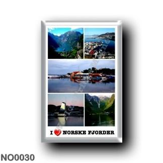 NO0030 Europe - Norway - Norske Fjorder - I Love