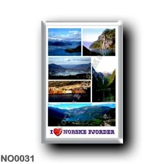 NO0031 Europe - Norway - Norske Fjorder - I Love