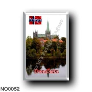 NO0052 Europe - Norway - Trondheim - Nidarosdomen