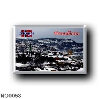 NO0053 Europe - Norway - Trondheim - Panorama