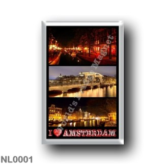 NL0001 Europe - Holland - Amsterdam - I Love