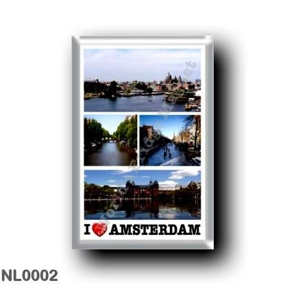NL0002 Europe - Holland - Amsterdam - I Love