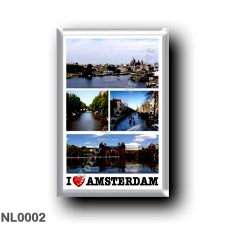 NL0002 Europe - Holland - Amsterdam - I Love