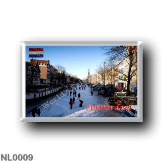 NL0009 Europe - Holland - Amsterdam - Panorama
