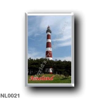 NL0021 Europe - Holland - Frisian Islands - Ameland - Lighthouse