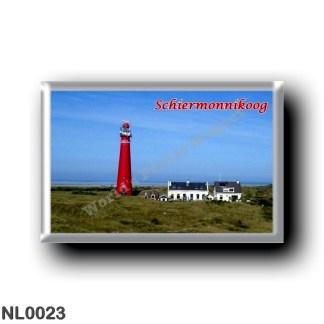 NL0023 Europe - Holland - Frisian Islands - Schiermonnikoog - lighthouse