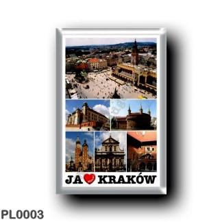 PL0003 Europe - Poland - Kraków - I Love