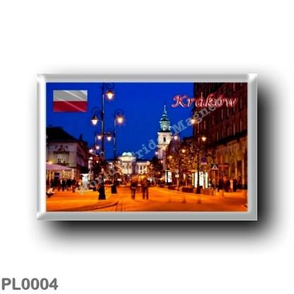 PL0004 Europe - Poland - Kraków - Lungo corso