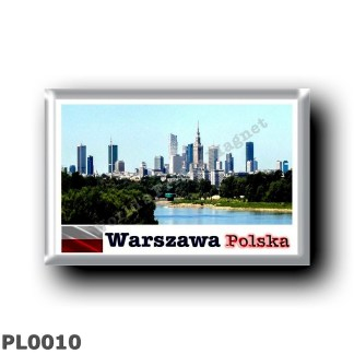 PL0010 Europe - Poland - Varsavia - Skyline