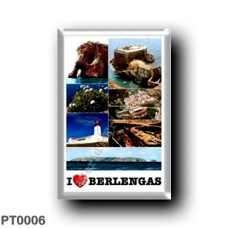PT0006 Europe - Portugal - Berlengas - I Love