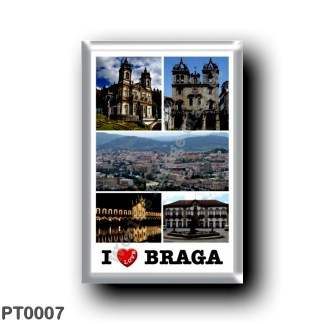 PT0007 Europe - Portugal - Braga - I Love