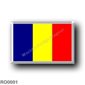 RO0001 Europe - Romania - Romanian flag