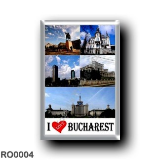 RO0004 Europe - Romania - Bucharest - I Love