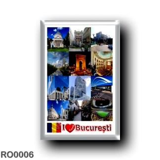 RO0006 Europe - Romania - Bucharest I Love