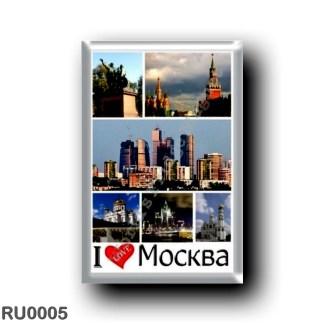 RU0005 Europe - Russia - Moscow - I Love