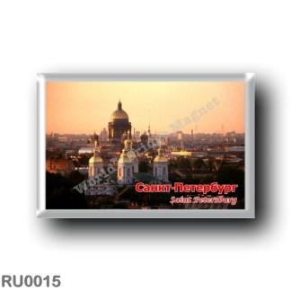 RU0015 Europe - Russia - St. Petersburg - Skyline