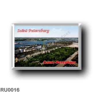 RU0016 Europe - Russia - St. Petersburg - Skyline