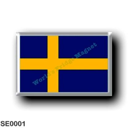 SE0001 Europe - Sweden - Europe - Sweden - Swedish flag