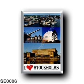 SE0006 Europe - Sweden - Europe - Sweden - Stockholm - I Love