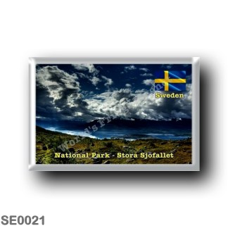 SE0021 Europe - Sweden - Europe - Sweden - National Park - Stora Sjöfallet