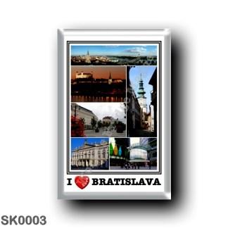 SK0003 Europe - Slovakia - Bratislava - I Love