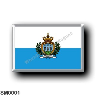 SM0001 Europe - San Marino - Flag