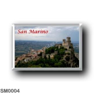 SM0004 Europe - San Marino - Monte Titano - Panorama