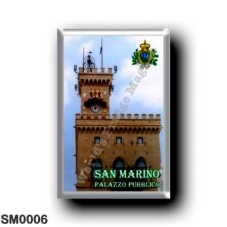 SM0006 Europe - San Marino - Public Building