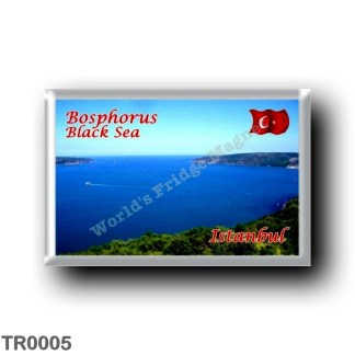 TR0005 Europe - Turkey - Istanbul - Bosphorus - Black Sea