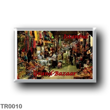 TR0010 Europe - Turkey - Istanbul - Grand Bazaar