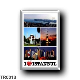 TR0013 Europe - Turkey - Istanbul - I Love