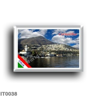 IT0038 Europe - Italy - Lombardy - Lake Como - Cernobbio (flag)