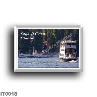 IT0018 Europe - Italy - Lombardy - Lake Como - Lake Como - The Boats