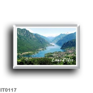 IT 0117 Europe - Italy - Idro Lake - Panorama