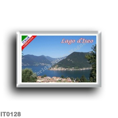 IT0128 Europe - Italy - Lombardy - Lake Iseo - Monte Isola