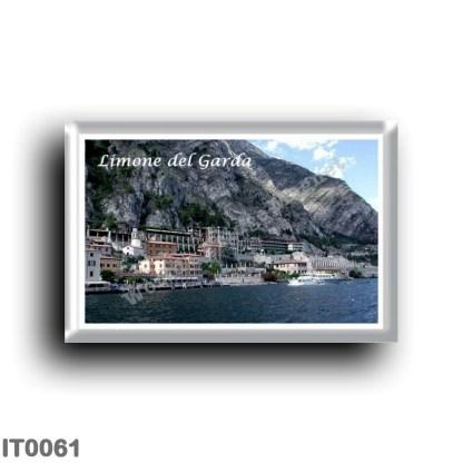 IT0061 Europe - Italy - Lake Garda - Limone del Garda - Panorama