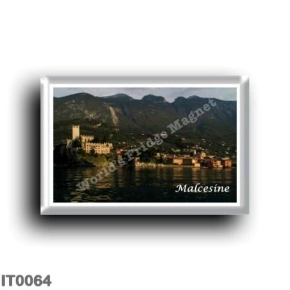 IT0064 Europe - Italy - Lake Garda - Malcesine - Panorama