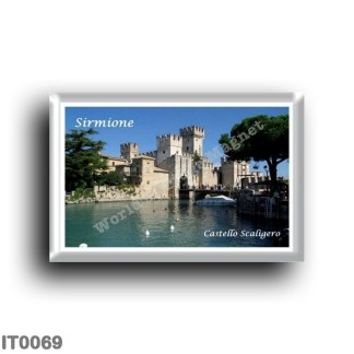 IT0069 Europe - Italy - Lake Garda - Sirmione - Scaliger Castle