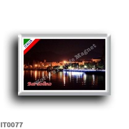 IT0077 Europe - Italy - Lake Garda - Bardolino (flag)