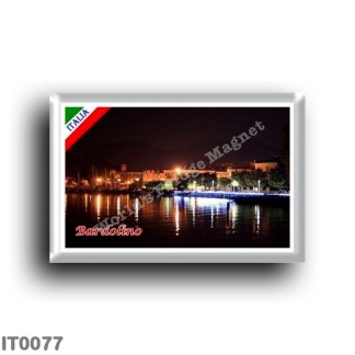 IT0077 Europe - Italy - Lake Garda - Bardolino (flag)