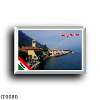 IT0080 Europe - Italy - Lake Garda - Gargnano (flag)