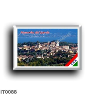 IT0088 Europe - Italy - Lake Garda - Manerba del Garda - Panorama (flag)