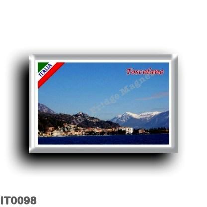 IT0098 Europe - Italy - Lake Garda - Toscolano - Panorama (flag)