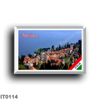 IT0114 Europe - Italy - Lake Maggiore - Meina - Panorama
