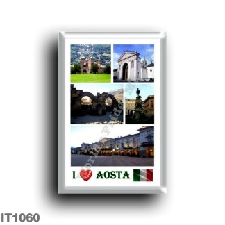 IT1060 Europe - Italy - Valle d'Aosta - Aosta - I Love