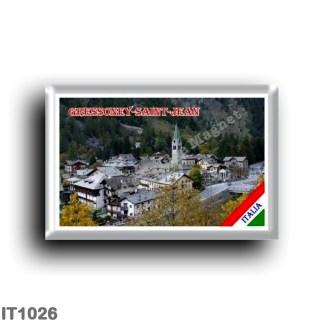 IT1026 Europe - Italy - Valle d'Aosta - Gressoney - Saint-Jean