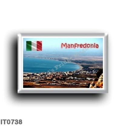 IT0738 Europe - Italy - Puglia - Foggia - Manfredonia - Panoramic View of the Gulf