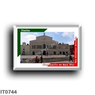 IT0744 Europe - Italy - Puglia - Foggia - San Giovanni Rotondo - Sanctuary of San Pio da Pietrelcina
