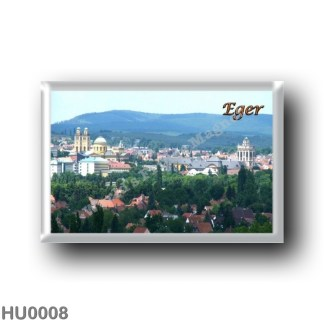 HU0008 Europe - Hungary - Eger- Panorama