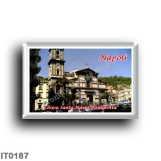 IT0187 Europe - Italy - Campania - Naples - Church of Santa Maria Piedigrotta